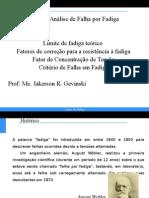 Fadiga - Revisão