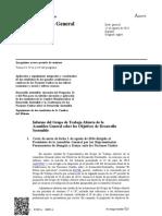 17 Objetivos Del DESARROLLO SOSTENIBLE Asamblea Nac Unid 12agosto 2014 27p