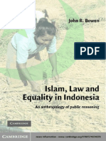 [John R. Bowen] Islam, Law, And Equality in Indonesia