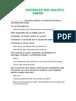 GUIÓN BOOKTRAILER MÁS MALDITO KARMA