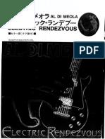 [Guitar Tabs - Songbook] - Al Di Meola - Electric Rendezvous