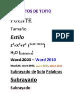 Practica Calificada - Formatos de Texto -1A