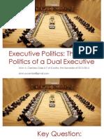 Executive Politics