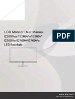 I2369VM AOC Monitor Manual