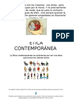 ETICA CONTEMPORANEA INCIOS