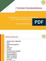 2 - Implementacija Temeljnih Koncepata Objektno Orijentiranog Programiranja u Jeziku C