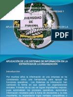 Aplicacion de Los Sistemas de Informacion en La Estrategia de La Organizacion