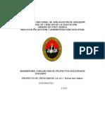 Proyecto de Inversión Institución Educativa Privada