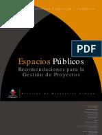Espacios Publicos_recomendacione Spara La Gestion de Proyectos