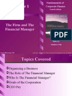 1[1]. the Firm and the Financial Manager
