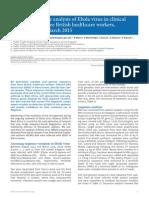 secuenciacion genoma Ebola