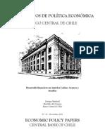 Desarrollo Financiero en America Latina