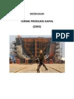 Teknik Produksi kapal- Materi