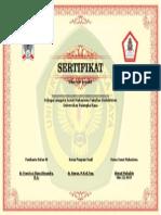 template sertifikat untuk senat.doc