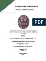 Instalacion de Celda Fotovoltaicas en La Red