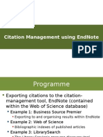 Guide to Endnote basic