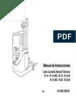 Manual Motor Diesel ISUZU C240 PW-28 en Español