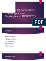 Business Opportunities, Challenges and Strategies in MOROCCO