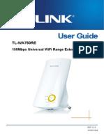 TP-Link_Range Extender model