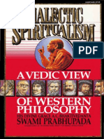 Dialectic Spiritualism-A Vedic View on Western Philosophy