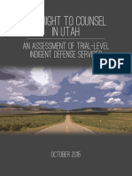 Sixth Amendment Center report on Utah Court System