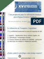 Una Propuesta Para La Valoración Técnica-psicológica-Forense (VTP-F