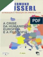 Husserl - Crise da Humanidade