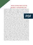 Saint Augustin - Discours sur les psaumes - Ps 77 Les Figures de l'Ancienne Loi