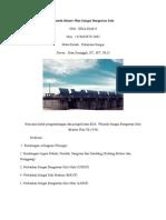 Contoh Master Plan Sungai Bengawan Solo