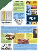 Leap of Faith Informational Brochure