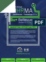 NHRMA 2016 Marketing Opportunities Brochure