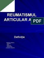 Reumatismul artricular