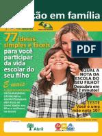 Guia Da Educação Em Família 77 Ideias Simples e Fáceis Para Você Participar Da Vida Escolar Do Seu Filho