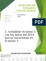 Los estados financieros (Análisis)