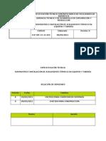 ECP-SPI-41!11!022-R0 Suministro e Instalacion de Aislamiento Termico en Equipos y Tuberia