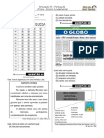 Simulado 5 (3º Ano - L.P) - Blog Do Prof. Warles