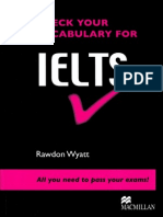 Check Your Vocab for IELTS Book