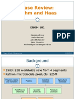 rohm and haas new product marketing strategy case analysis