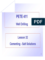 Cementing Salt Solutions