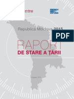 Raport de Stare a Tarii Republica Moldova