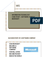 casestudyofmicrosoft-090623055610-phpapp02