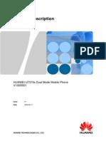 U7315s Dual Mode Mobile Phone Product Description V100R001_0