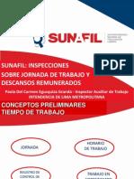 SUNAFIL Inspecciones sobre Jornada de Trabajo y Descansos Remunerados