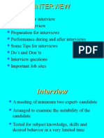 interviewtechnique