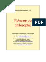 Alain - Eléments de philosophie (Uqac)