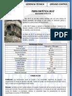 Ficha Técnica JM 47 Fibra Sintetica de Polipropileno