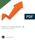 Twitter Account of @LukaszZelezny - Raport z @SoTrender Report (PL Lang)