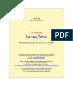 Ciceron,Marcus Tullius - La Vieillesse