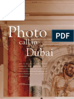 Taylor Bramley's Photocall in Dubai