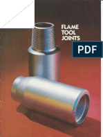 Flame Tool Joints Product Brochure